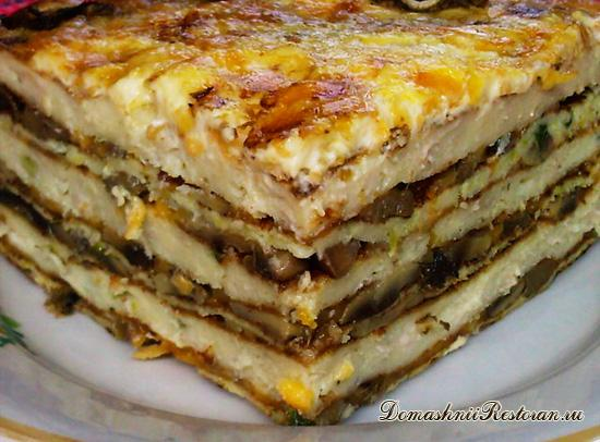 Закусочный торт «Княжий»