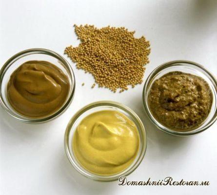 5 рецептов приготовления горчицы