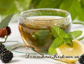 Чай с пряностями и мятой