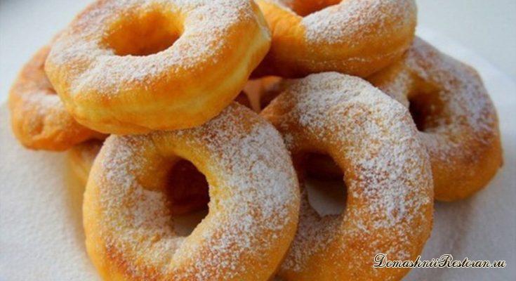 Дрожжевые пончики