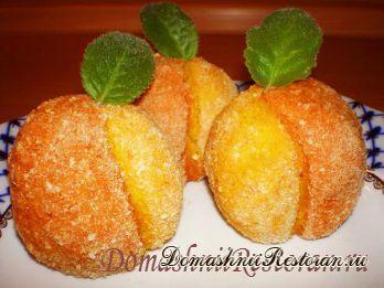 Горячая закуска «Картофельные персики»