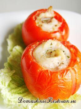 """Горячее закусочное пирожное """"Рыбка в помидорке"""""""