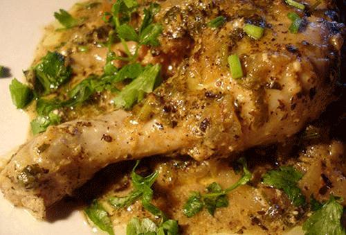 Курица в орехово-чесночном соусе сациви (просто пальчики оближешь)