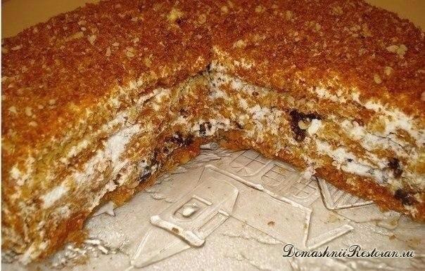 Медовый торт Особенный. Самый вкусный на свете медовик!