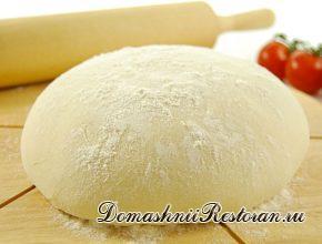 Обыкновенное пресное тесто (2 варианта)
