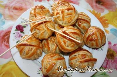 Пирожки - Клубочки ниток