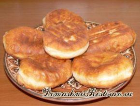 Пирожки с картофелем и луком