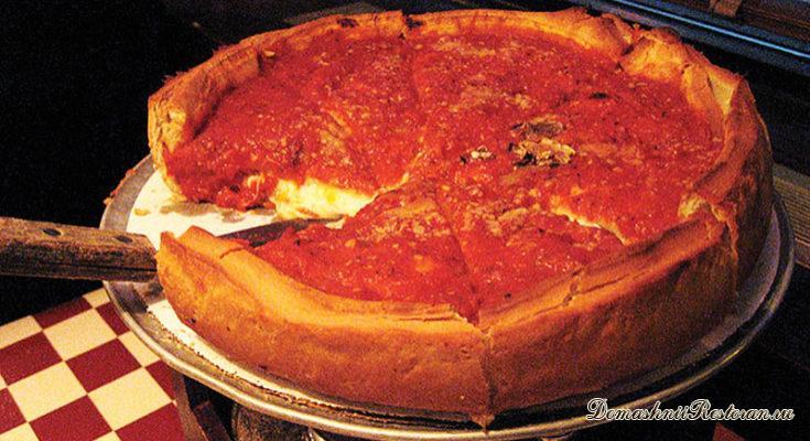 Рецепт американской пиццы