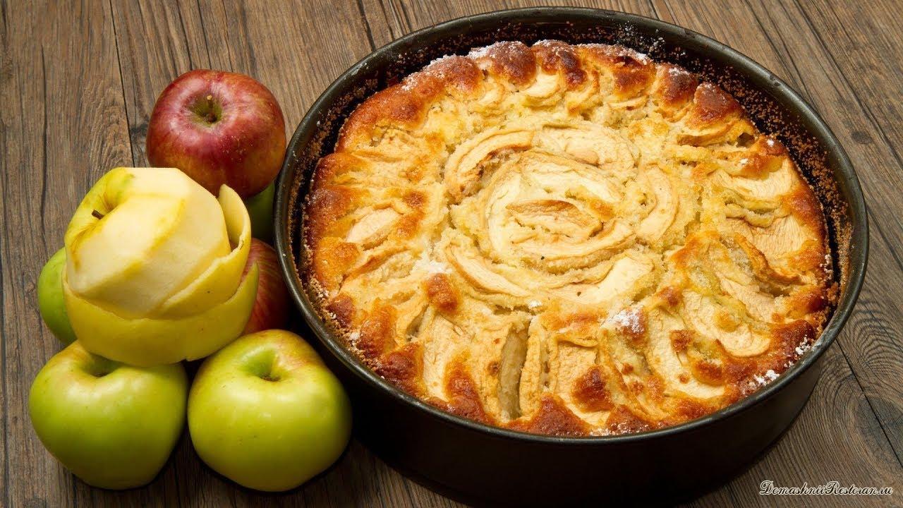 Шарлотка - классический рецепт яблочного пирога
