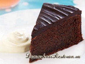 Шоколадный торт (без муки)