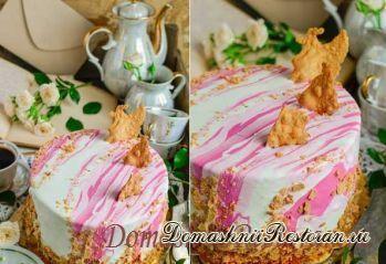 """Старый-новый торт """"Наполеон"""""""