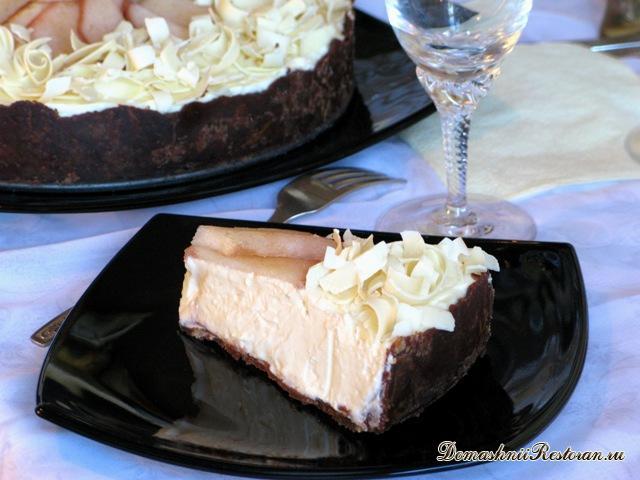 Торт «Черное и белое» без выпечки