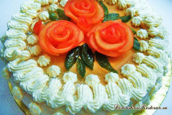 Торт «Я его слепила Из того, что было»