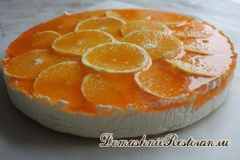 """Торт""""Оранжевое настроение"""""""