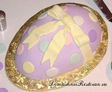 Торт «Пасхальные яйца»