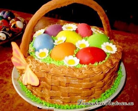 Торт Пасхальные яйца