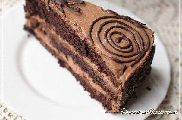 "Торт ""Шоколадная фантазия"""