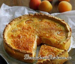 Торт с начинкой из абрикосов