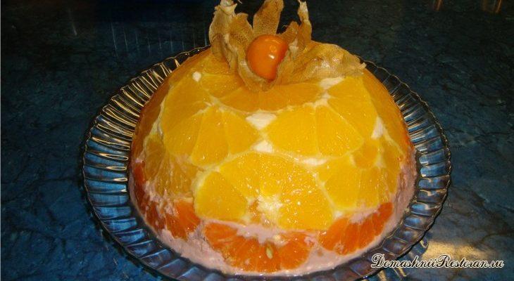 Творожной торт