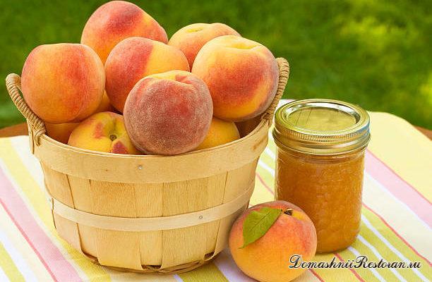Варенье из персиков. Варенье из абрикос.