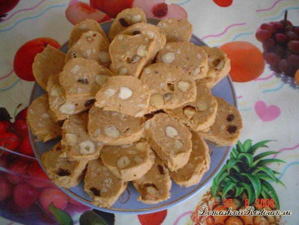 Восточная сладость на основе массы пирожного «Картошка»