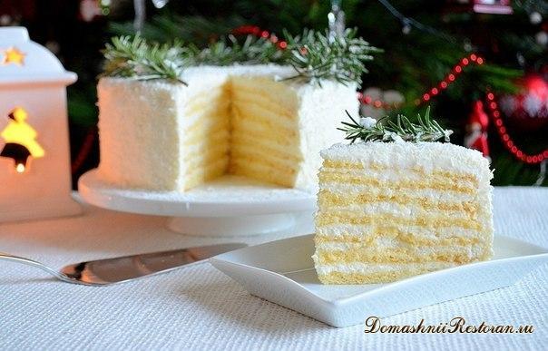 """Торт """"Кокосовое наслаждение"""""""
