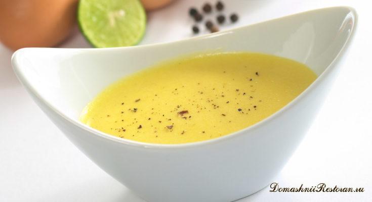 Классические яично-масляные соусы. 13 рецептов.