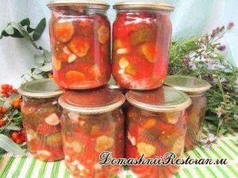 Огурцы в томате на зиму - обалденный рецепт!