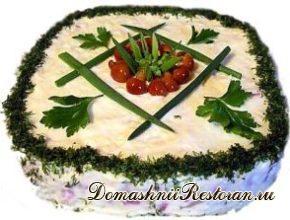 Салат «Уральская шкатулка»