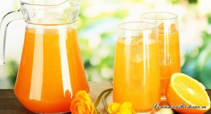 Апельсиновый лимонад