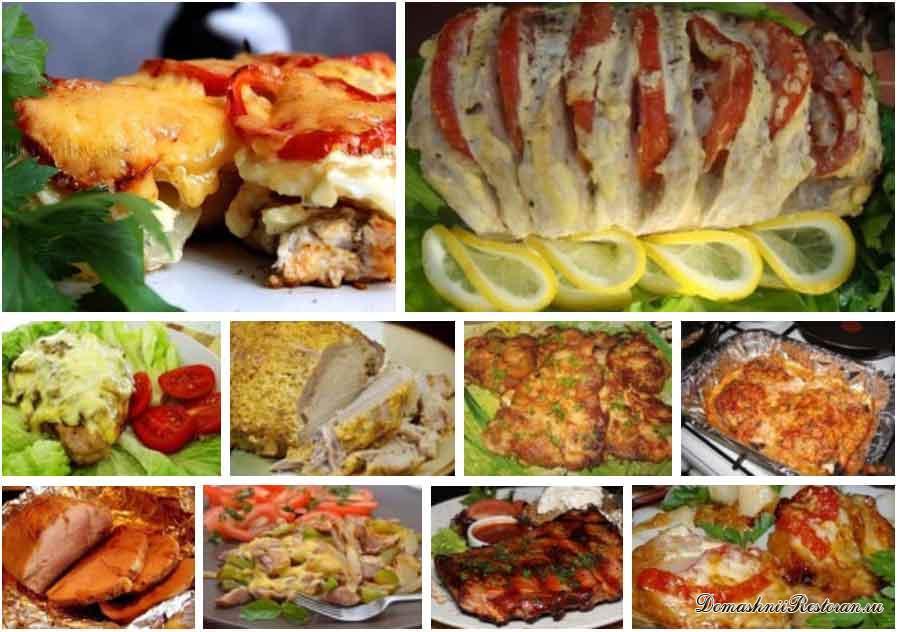 Блюда с фото блюд в рукаве