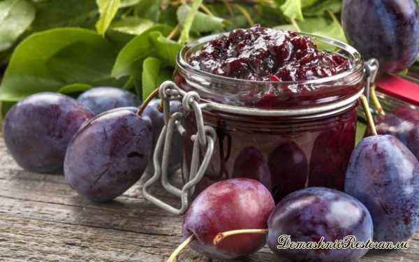СЛИВА. 28 рецептов (варенье, желе, повидло, мармелад, компот и др.)