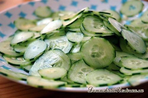 ТОП-6 салатов с огурцами
