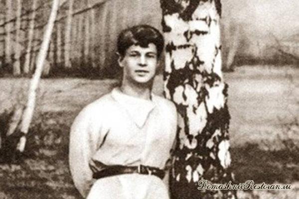 Сергей Есенин в деревне
