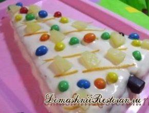 """Торт новогодний """"Ёлочка"""""""