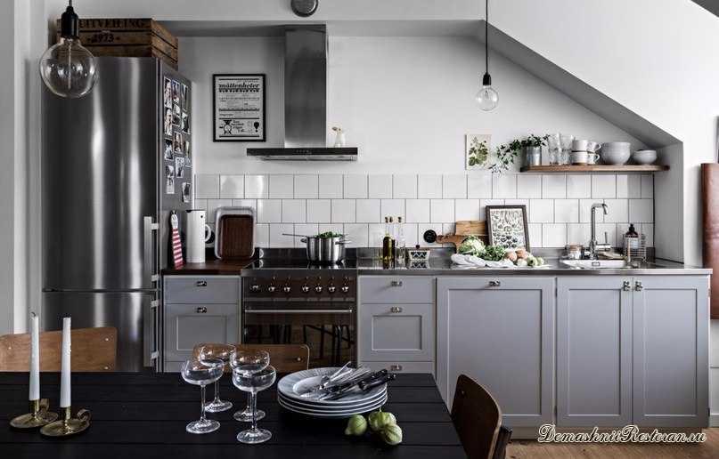 Как грамотный интерьер на кухне помогает худеть