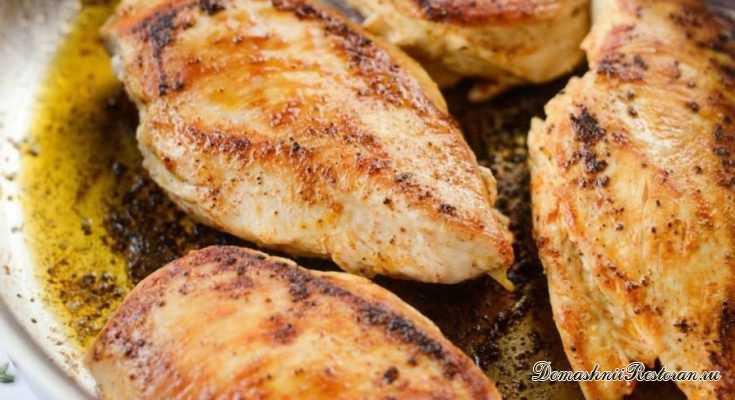 Курица в сливочно-лимонном соусе
