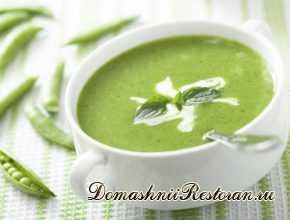 Зеленый крем-суп