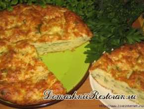 Греческий пирог с кабачками