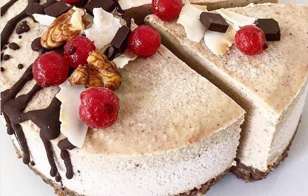 Торт на основе орехов