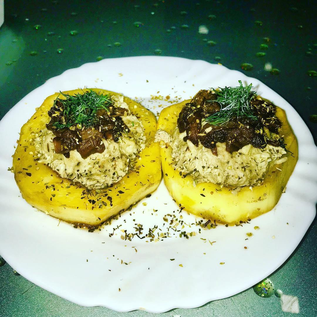 Абалденно вкусные «Фаршированные кабачки»