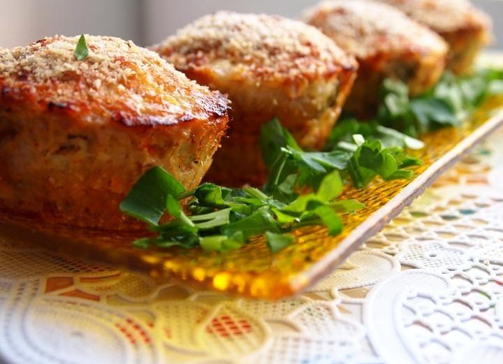 Куриные кекcы с сырной начинкой – оригинально, легко и вкусно!