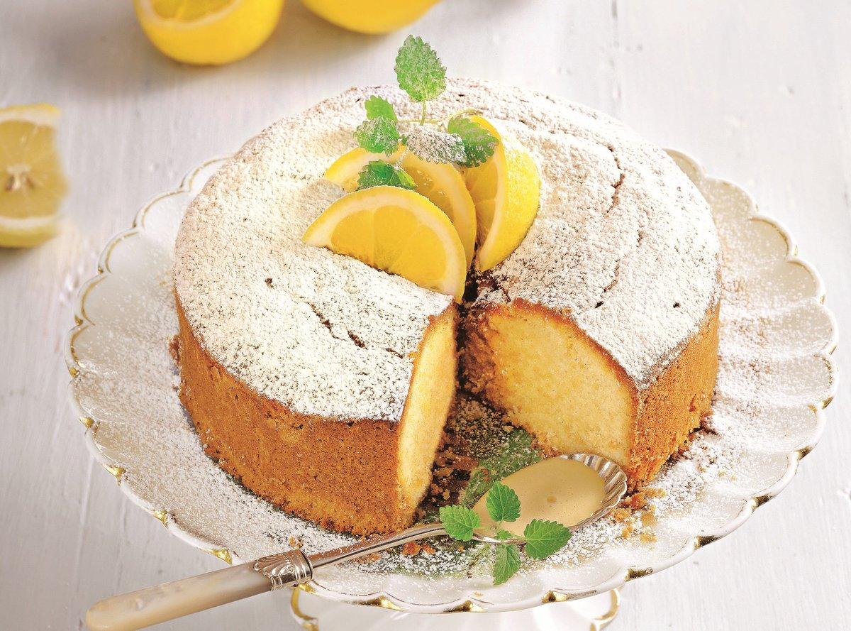 Нежнейший лимонный кекс на сгущенке