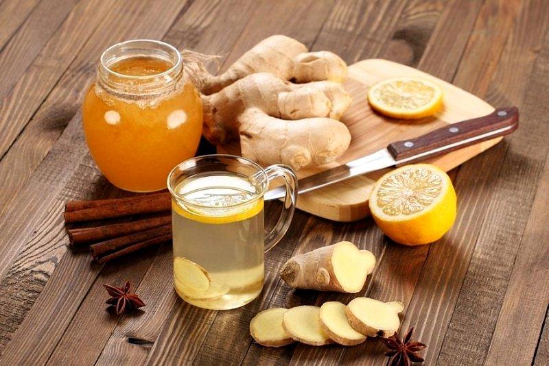 Жиросжигающий напитoк — волшебство имбиря, меда и фруктов!