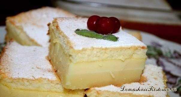 Очень вкусное пирожное
