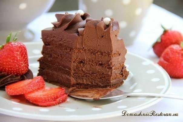 """Шоколадный торт """"Мечта"""""""