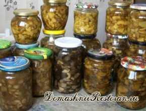 10 заготовок из грибов на зиму