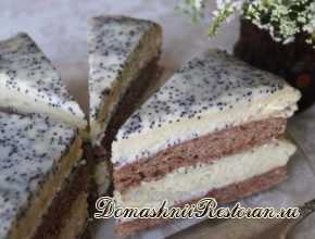 Быстрый сметанный торт