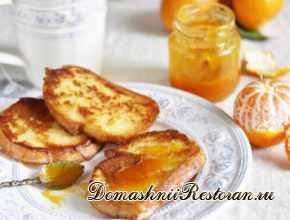 Французский апельсиновый тост