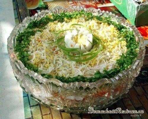 Нежный салат Бриз